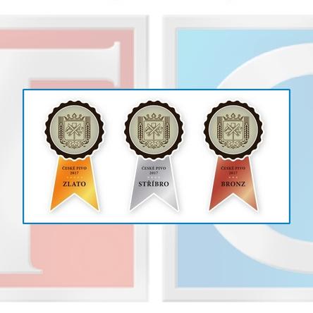 Slavnostní vyhlášení výsledků soutěže české pivo