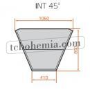 LCC Carina 03 INT45 - Vnitřní rohová vitrína 45°