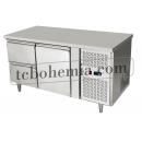 EPF3422 D2 - Chlazený pracovní stůl s 1 dveřmi a 2 zásuvkami