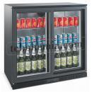 LG-208S LED - Barová chladnička se dvěma skleněnými dveřmi