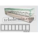 VRX395/1800 | Salátový chladič (8x GN 1/3)