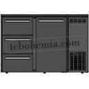 TC BBCL2-62   Barová lednice s dveřmi a zásuvkami