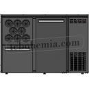 TC BBCL2-12   Barová lednice s dveřmi, zásuvkou a otvory na lahve