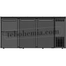 TC BBCL3-522   Barová lednice s dveřmi a zásuvkami