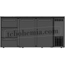 TC BBCL3-622   Barová lednice s dveřmi a zásuvkami