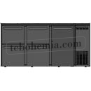 TC BBCL3-552   Barová lednice s dveřmi a zásuvkami