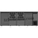 TC BBCL4-2112   Barová lednice s dveřmi, zásuvkami a otvory na lahve