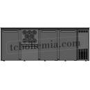 TC BBCL4-2122   Barová lednice s dveřmi, zásuvkou a otvory na lahve