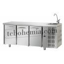 TF03EKOGNL - Chlazený pracovní stůl GN 1/1 s dřezem
