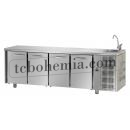 TF04EKOGNL - Chlazený pracovní stůl GN 1/1 s dřezem