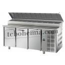 TF03EKOGNSK - Stůl na přípravu pizzy (10xGN1/3)