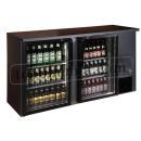 TC-BB-2GD barová chladnička se dvěma sklenými dveřmi