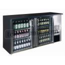 TC-BB-2GDI INOX - Double glass door bar cooler