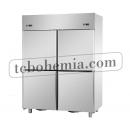 A414EKOPN - Kombinovaná čtyřdveřová lednice/mraznička