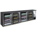 TC-BB-4GDI INOX - Barová chladnička se čtyřmi skleněnými dveřmi