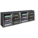 TC-BB-4GDRI INOX - Barová chladnička se čtyřmi skleněnými dveřmi