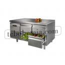 GNTC700 D4 - Chlazený pracovní stůl se 4 zásuvkami