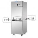 A207EKOMTN - Nerezová lednice s plnými dveřmi GN 2/1