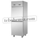 A207EKOPP - Nerezová lednice s plnými dveřmi GN 2/1