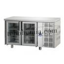 TF02MIDPV - Chlazený pracovní stůl s prosklenými dveřmi GN 1/1
