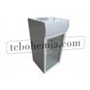SC80B - Lednice s prosklenými dveřmi