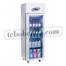 MN4-G - Lékárenská lednice se skleněnými dveřmi