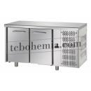 TF02MIDGN - Dvoudveřový chlazený pracovní stůl GN 1/1