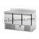 SL03AL - Chlazený pracovní stůl se zadním okrajem GN 1/1