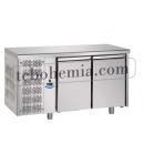 TF02MIDGN | Chlazený pracovní stůl se 4 zásuvkami GN 1/2