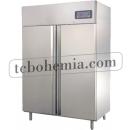 GNC1400L2 | Nerezová lednice s dvojitými plnými dveřmi