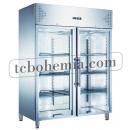 KH-GN1410TNG | Nerezová prosklená lednice