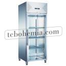 KH-GN650TNG | Nerezová prosklená lednice