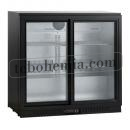 SC 211 SLE   Barová chladnička se dvěma skleněnými dveřmi
