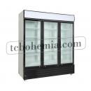 SD 1501-1 H | Třídveřová vitrínová lednice