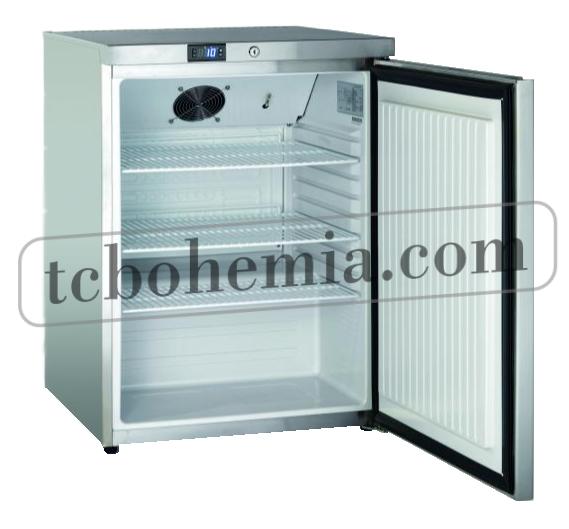 SK 145 | Nerezová lednice s plnými dveřmi