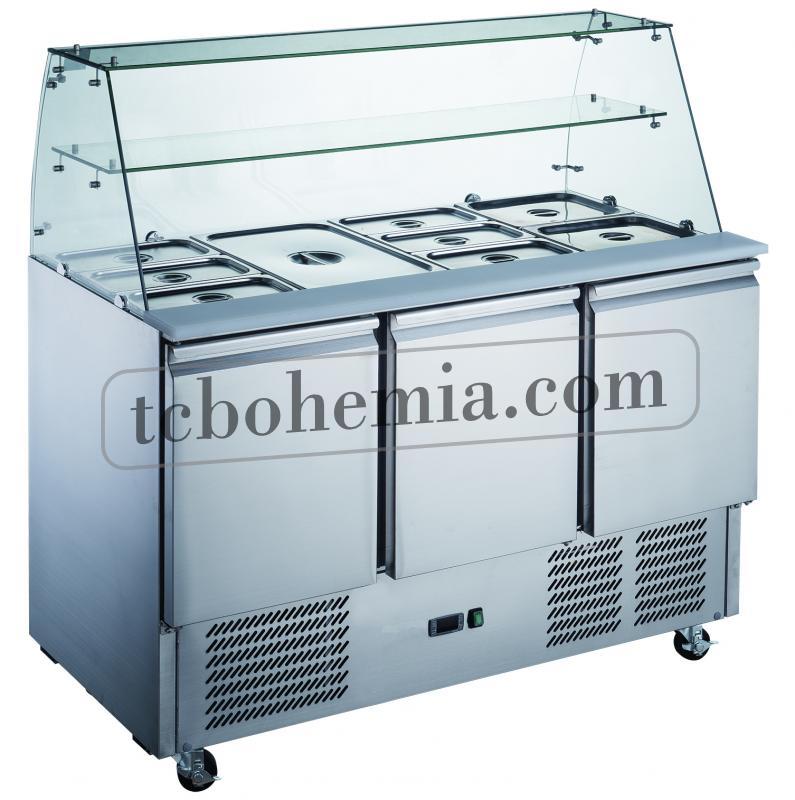 KH-S903SQ | Třídveřový salátový chladič