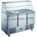 KH-S903SQ | Salad cooler with 3 doors
