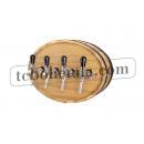 Dřevěné vinařské čelo