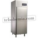 GNC740L1 INOX Lednice s plnými dveřmi