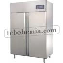 GNC1400L2 - Nerezová lednice s dvojitými plnými dveřmi