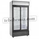 SD 1001 SL | Lednice s prosklenými posuvnými dveřmi