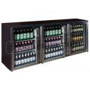 TC-BB-3GDRI INOX - Barová chladnička se trěmi skleněnými dveřmi