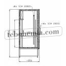 CC 1950 XL (SCH 2000) INOX   Nerezová lednice s dvojitými dveřmi
