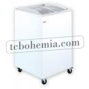 UDD SCB - Chest freezer with sliding curved glass top