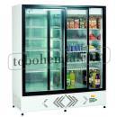 ECO+ C1400 - Lednice s posuvnými skleněnými dveřmi