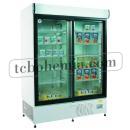 ECO+ C1200 - Lednice s posuvnými skleněnými dveřmi