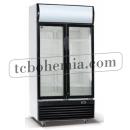 LG-600F - Lednice s prosklenými dveřmi