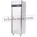 QB0.4L2 INOX Mraznička s plnými dveřmi