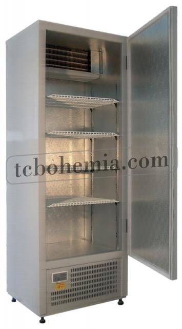 CC 725 (SCH 600) INOX | Nerezová lednice s plnými dveřmi