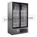 CC 1600 SGD (SCH 1400 R) INOX | Nerezová lednice s posuvnými skleněnými dveřmi